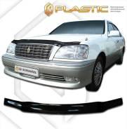 Дефлектор капота Toyota Crown 99-03 (Classic черный) 384