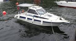 Yamaha FR-24. 1998 год, длина 7,50м., двигатель подвесной, 140,00л.с., бензин