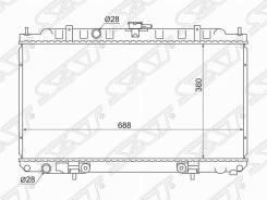 NS0001-16, Бренд: SAT, применяемость Радиатор Nissan AD / Wingroad / S