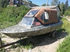 Продаю лодку крым с документами и лодочным мотором ямаха 25-ка 4х такт
