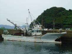 Рыболовная флотилия в составе 3-х сейнеров из Японии