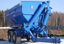Тонар ПТ5. Бункер-перегрузчик зерна. Прицеп Тонар-ПТ-5 Объём кузова 22 куб. м., 17 600кг.