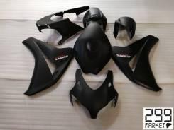 Комплект пластика для мотоцикла HONDA CBR1000RR 08-11 Черный матовый