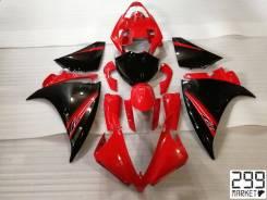 Комплект пластика для мотоцикла YAMAHA R1 13-14 Красный/Черный