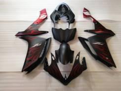 Комплект пластика для мотоцикла YAMAHA R1 07-08 Черный матовый