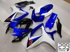 Комплект пластика для мотоцикла SUZUKI GSX-R 600 K8 Белый/Синий