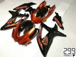 Комплект пластика для мотоцикла SUZUKI GSX-R 750 K8-K9 Оранженый