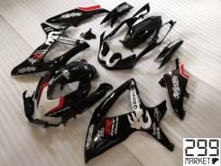 Комплект пластика для мотоцикла SUZUKI GSX-R 1000/750/600 K8-L0 Черный/Белый