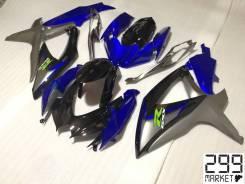 Комплект пластика для мотоцикла SUZUKI GSX-R 1000/750/600 K8-L0 Черный/Синий