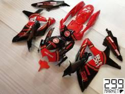 Комплект пластика для мотоцикла SUZUKI GSX-R 1000/750/600 K8-L0 Черный/Красный Lucky Strike