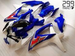 Комплект пластика для мотоцикла SUZUKI GSX-R 1000/750/600 K8-L0 Синий/Белый