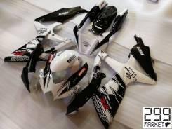 Комплект пластика для мотоцикла SUZUKI GSX-R 1000/750/600 K8-L0 Белый/Черный
