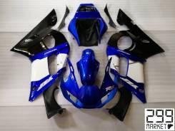 Комплект пластика для мотоцикла YAMAHA R6 03-05 Черный/Белый/Синий