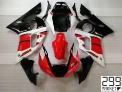 Комплект пластика для мотоцикла YAMAHA R6 03-05 Черный/Белый/Красный