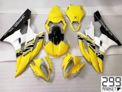 Комплект пластика для мотоцикла YAMAHA R6 06-07 Желтый