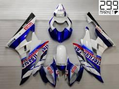 Комплект пластика для мотоцикла YAMAHA R6 06-07 Белый/Синий