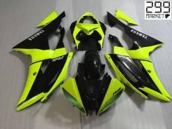 Комплект пластика для мотоцикла YAMAHA R6 08-16 Салатовый/Черный