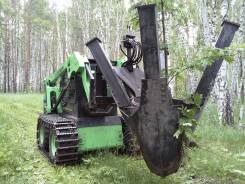 Продается пересадчик деревьев на мини-погрузчик