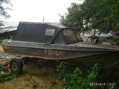 Продам лодку Казанка 5М3 с мотором Mercuri Sea Pro 25. Переделан на 30