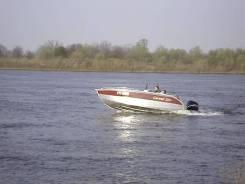 "Катер ""Корвет 500"" мотор suzuki DF70W"