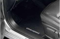 Коврики в салон велюр Nissan Qashqai+2 J10 (KE745-EY031). Оригинал.