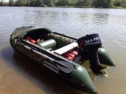 Продам надувную лодку с мотором