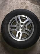 """Продам колеса (диски+шины зимние) 205/70r15 на хонду цивик. x15"""" 5x114.30 ET45 ЦО 64,1мм."""