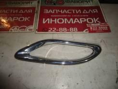 Накладка на бампер задний [A0008850174] для Mercedes-Benz GLE W166