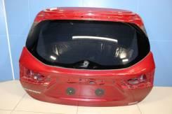 Дверь багажника со стеклом Nissan Qashqai (J11E) (2014-) [K0100BM9MA]