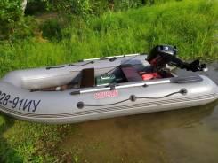 Лодка ПВХ Посейдон Сапсан 360 с мотором Suzuki DT15a