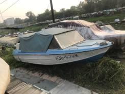 Продам лодку КРЫМ с двумя моторами