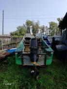 Продам лодку дюралюминивая Воронеж с мотором тохатсу 50 л с