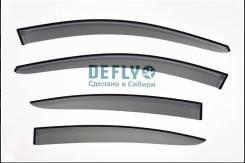 Chevrolet Cruze седан (2008-2015) Ветровики Дефлектор окон Defly
