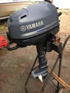 Yamaha. 6,00л.с., 4-тактный, бензиновый, нога S (381 мм), 2010 год