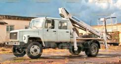ГАЗ-33086 Земляк. ГАЗ-33086 АГП-22Т (Автовышка ГАЗ), 22,00м.