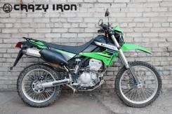 Crazy iron багажник Kawasaki KLX250; KLX250S
