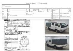 Стартер Nissan Atlas P2F23 TD27