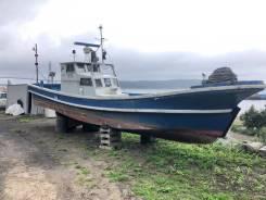 Продам шхуну Yamaha 40 во Владивостоке DV-Marine