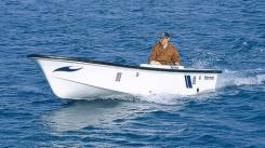 Лодка (катер) транспортно-рыбацкая Yanmar стеклопластик, стац. дизель