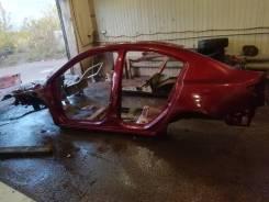 Задняя часть автомобиля. Mazda Mazda3