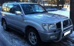 Ветровики (дефлекторы боковых окон) Toyota Land Cruiser 100 1998-2007