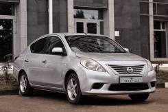 Nissan Latio. Без водителя