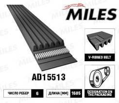 Ремень поликлиновой 6PK1693 AD15090 miles AD15090 в наличии