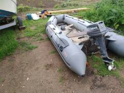 Продам резиновую лодку ПВХ 4 метра