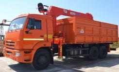 Самосвал Камаз 65115 с КМУ Kanglim KS1256G-II