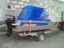 "Моторную Лодку ""Салют - 480М"" С ПЛМ 60 Л. С. 4-х тактный Suzuki"