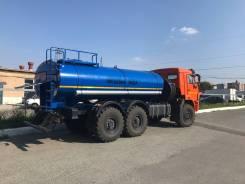 КамАЗ 43118 Сайгак. АЦПТ Автоцистерна для питьевой воды Камаз 43118 водовоз вездеход, 11 762куб. см., 14 000кг., 6x6. Под заказ