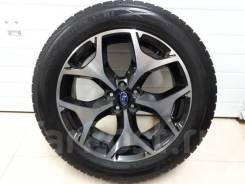 """Зимние колеса Dunlop 225/55R18 на литье Subaru Forester 5x100R18. 7.0x18"""" 5x100.00 ET48 ЦО 56,1мм."""