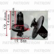 Клипса Пластмассовая Citroen, Peugeot, Renault Применяемость: Брызговики, Подкрылок Patron арт. P370332