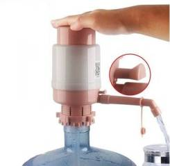 Насос для воды, помпа для бутылки с выпуском воздуха, Розовый